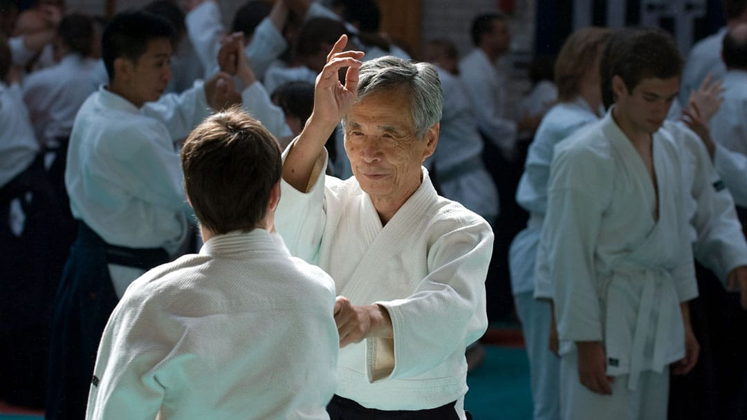 Tamura sensei en action
